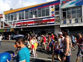 Caminando, Marcha de la Diversidad 2017 /Walking, Costa Rican Pride 2017