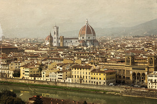 View to Florence from Piazzale Michelangelo | by Tigra K