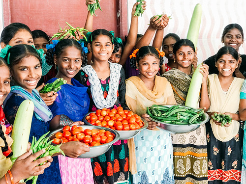 India lentil harvest yields 2.2 tons; gardening projects also see abundant harvest, story of orphan girl's path from poverty and hardship to happiness and hope   by Peace Gospel