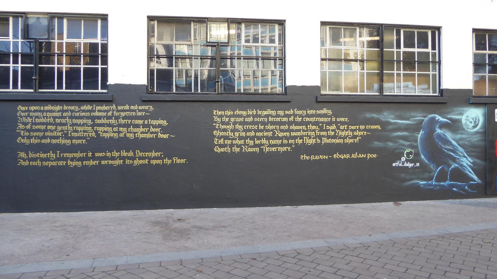 Artful Dodger Graffiti Brixton Wwwpoetryfoundationorgp Flickr