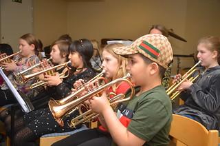 Kornetter i Framåt Brassband 1