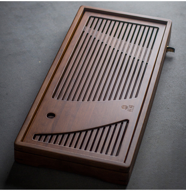 Bamboo Tea Tray with Water Tank 2 Variations