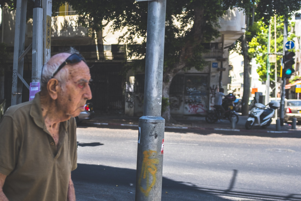 Israel can be hard to see. Tel Aviv, August 2017.