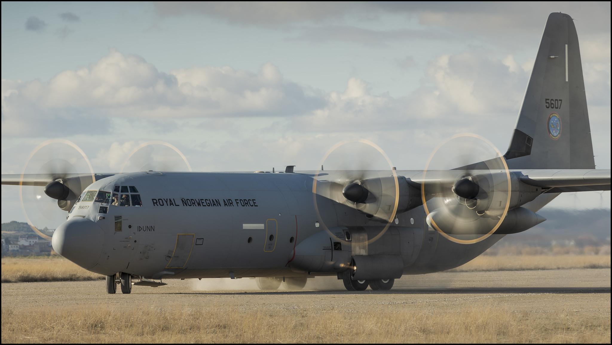 C-130 Hércules de la fuerza aérea noruega