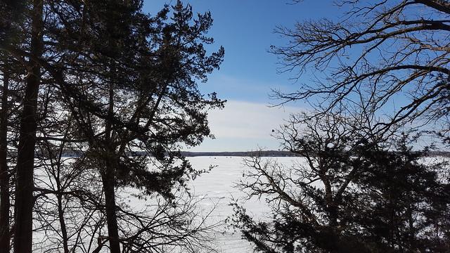 Lake Sylvia in Winter