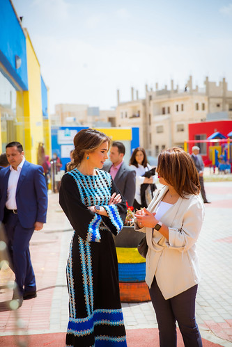 Visit to Mafraq | by queenrania