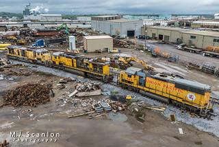 UPY 940 | EMD S6-1B | Progress Rail Services | by M.J. Scanlon