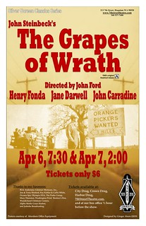 Grapes of Wrath poster | by 7th Street Theatre