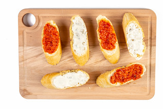 Bread Baguettes with Tomato and Tartar Sauce | by wuestenigel