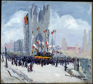 Ypres Honours the Acting Mayor of 1914 / Ypres rend hommage au maire intérimaire de 1914
