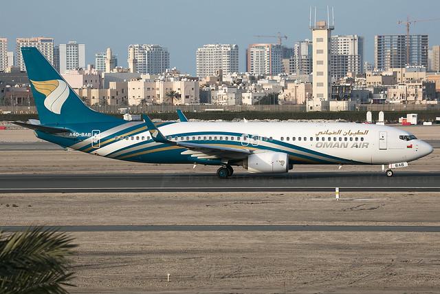 A4O-BAB B737-800 Oman Air