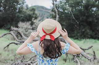 Collectif Mainline Eliza Blueberries Swing Dress | by AshleyBelle12