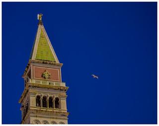 Campanario San Marcos Venecia.