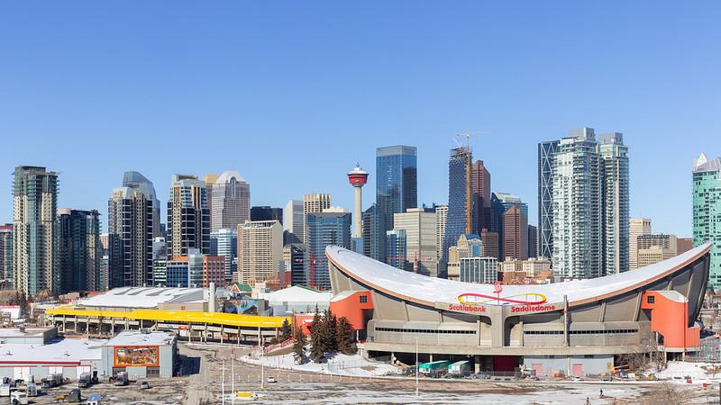 Week 10 - Hometown - Calgary Alberta Canada Downtown Skyline