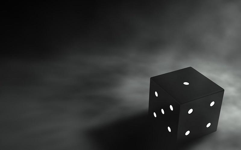 Обои кубик, 3d, графика, черный, серый фон, 3d графика картинки на рабочий стол, фото скачать бесплатно