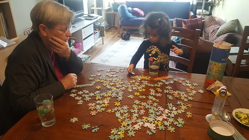 Puzzle with Grammy | by Canadian Veggie
