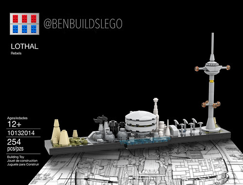 Lego Star Wars - Lothal Skyline (Box)