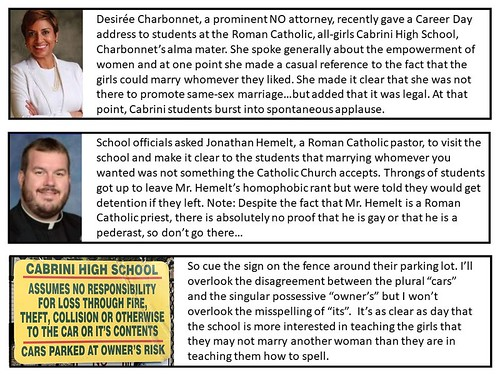 All Roman Catholics are sexually repressed. Pass it on.