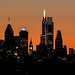Phillytown Silhouette by PhillymanPete