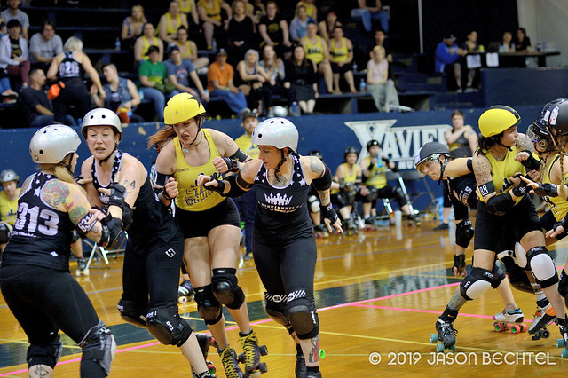 Cincinnati Rollergirls Black Sheep vs. Steel City Roller Derby Steel Hurtin', 2019-04-06 -165