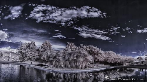 panorámicainfrarrojo720nminfraredlandscape720nm infrarrojo infrarred luisfrancor ngw ngs ngd ngg ng nikon nikonflickraward nikonistas 720nm bogotá landscape panoramica panoramic d70infrared