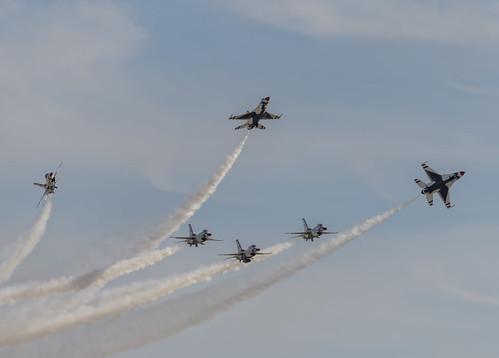 Thunderbird Pre Landing Break