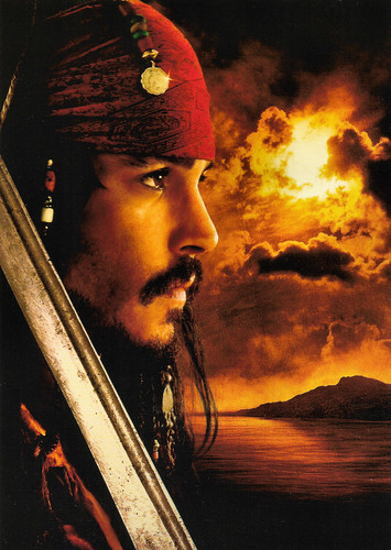Johnny Depp in Pirates of the Caribbean: Dead Man's Chest (2006)