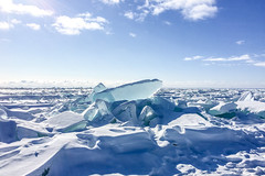 Brighton Beach, Lake Superior, Duluth 2/27/19 #ice