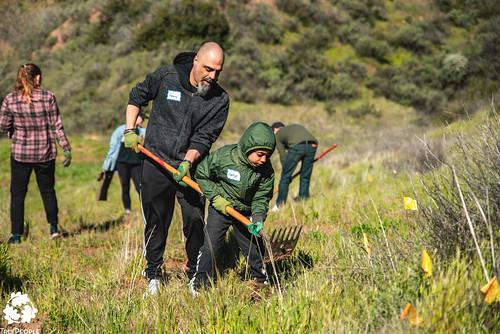 San Francisquito Canyon Planting, March 16, 2019-3