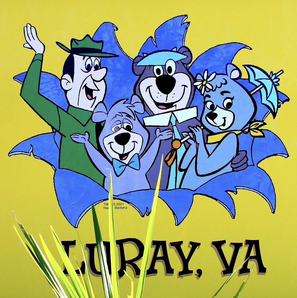 Yogi and Friends | Virginia | Luray Ranger Smith, Boo-Boo, Y