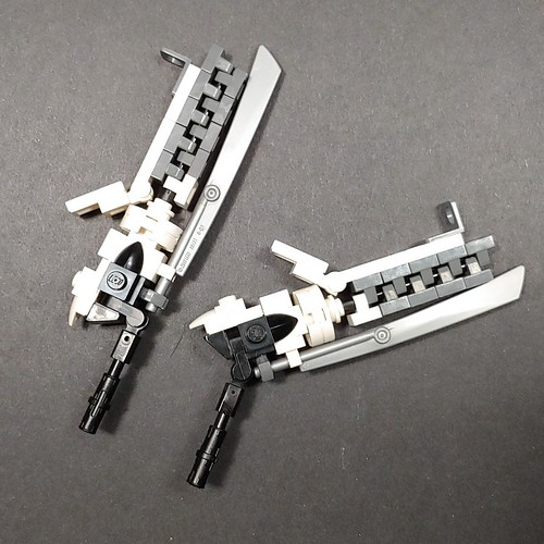 Dual gun blades for an up coming mecha #ZephyrChaos