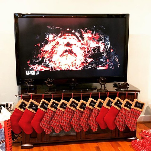 And the stockings were hung by the fireplace (with Sirius Black's face in it) with care... | by Allen J Fuller III