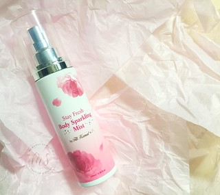 Stay Fresh Sparkling Body Mist | by Mamanee's Nest