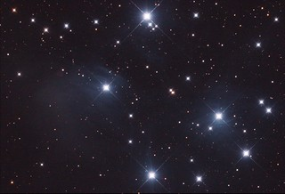 M45 COL BIAS FLAT Stack_10frames_300s_WithDisplayStretch | by BlackWikkett