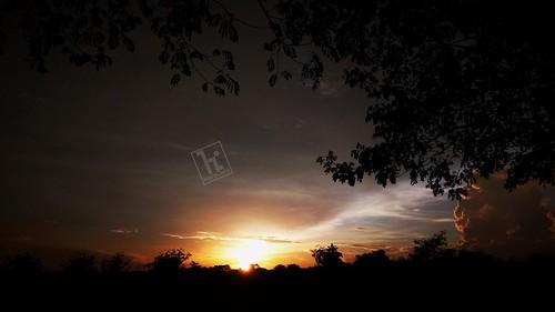 cileungsi harvestcity bogor sunset harisonly mobilephone
