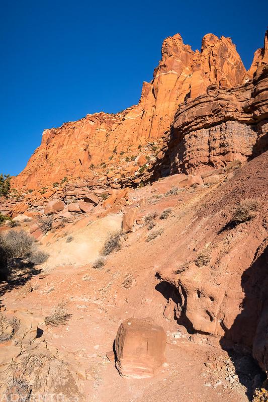 Wash & Cliffs