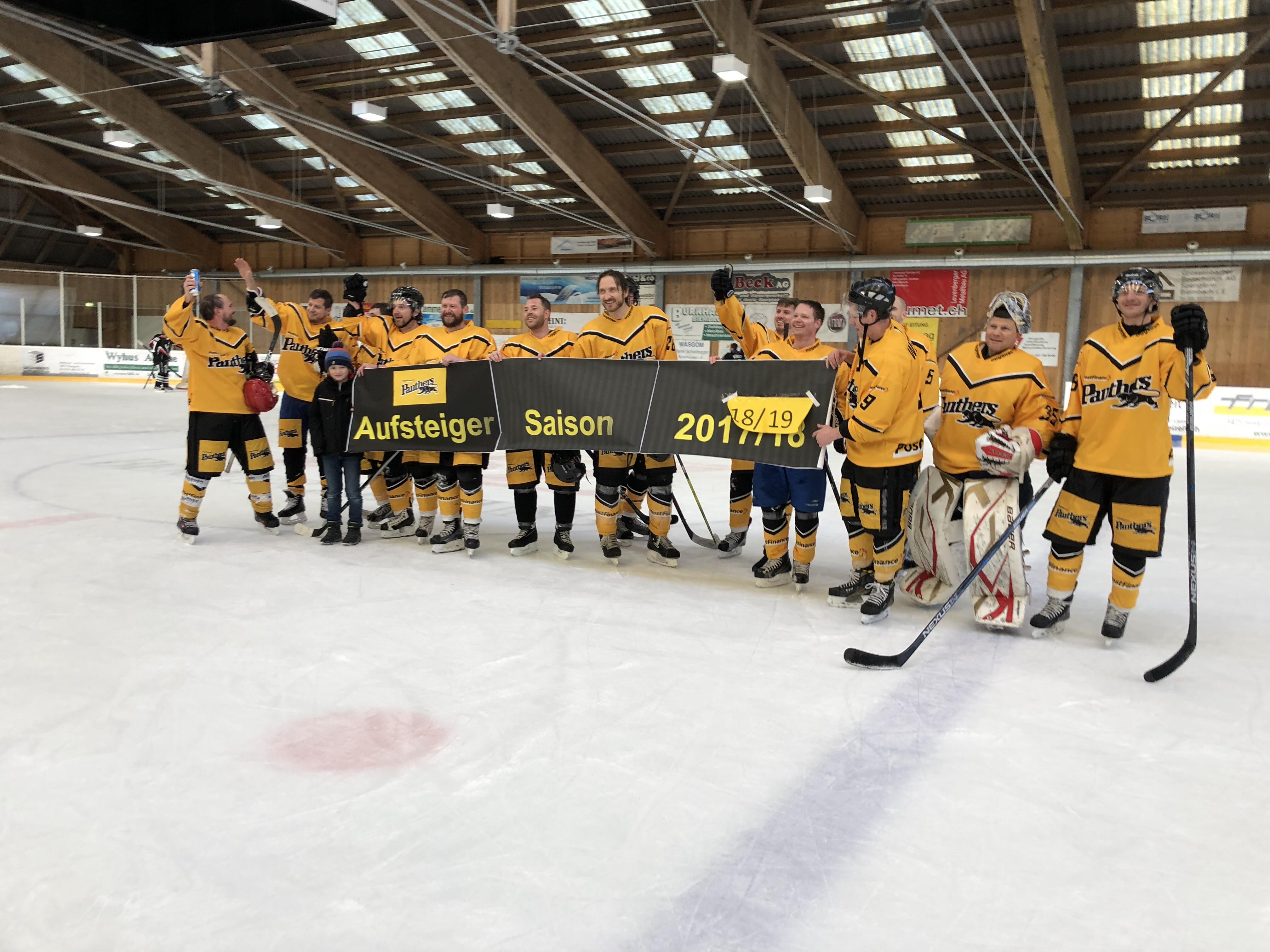 Saison 18/19 - Aufstieg Gruppe B