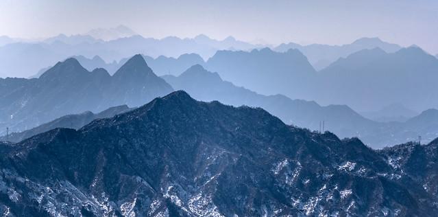 The Blue Mountains of Mu Tian Yu