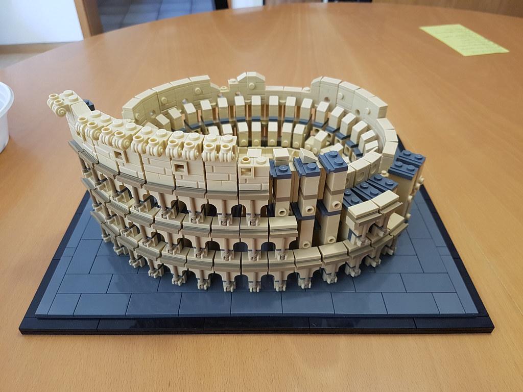 Colosseum - Facade-construction