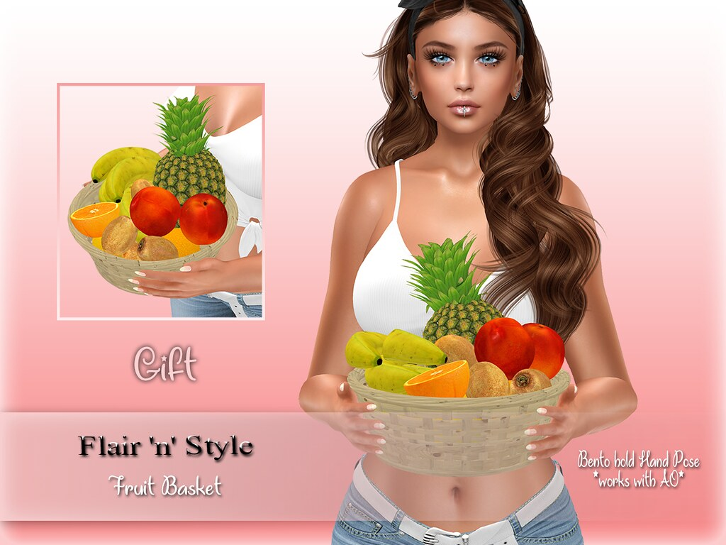 {Flair 'n' Style} Fruit Basket GIFT