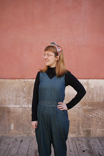 In the Folds Peppermint Magazine Jumpsuit | by English Girl at Home