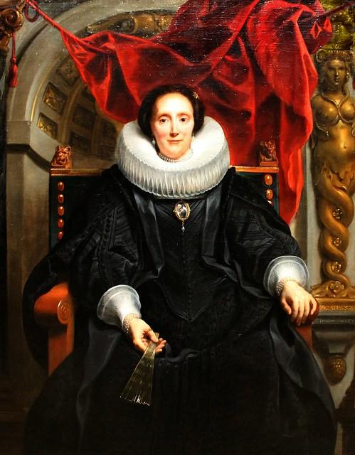 Jacob Jordaens. Portrait of Catharina Behagel. 1635