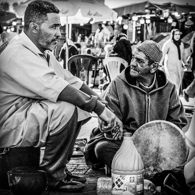 Berbers at the Jamaa el Fna Plaza