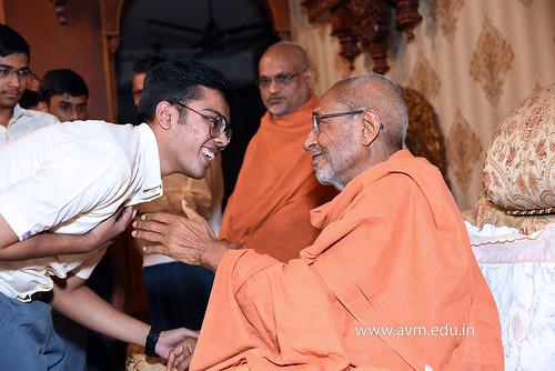 Std-10-11-12-visit-to-Haridham-for-Swamishree's-Blessings-(28) | by Atmiya Vidya Mandir