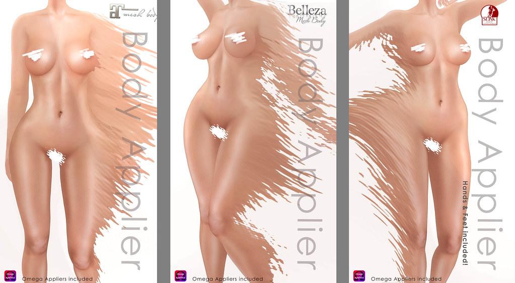 NEW Body Appliers @ DeeTaleZ | for Maitreya, Belleza, SLink,… | Flickr