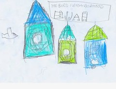 Bird feeder 2 | by sketchtuesday