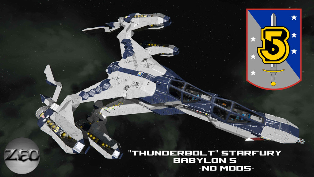 Starfury From Babylon 5