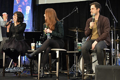 Creation Entertainment?s Once Upon A Time Tour, Burbank, CA with Lana Parrilla, Rebecca Mader and Andrew West panel.