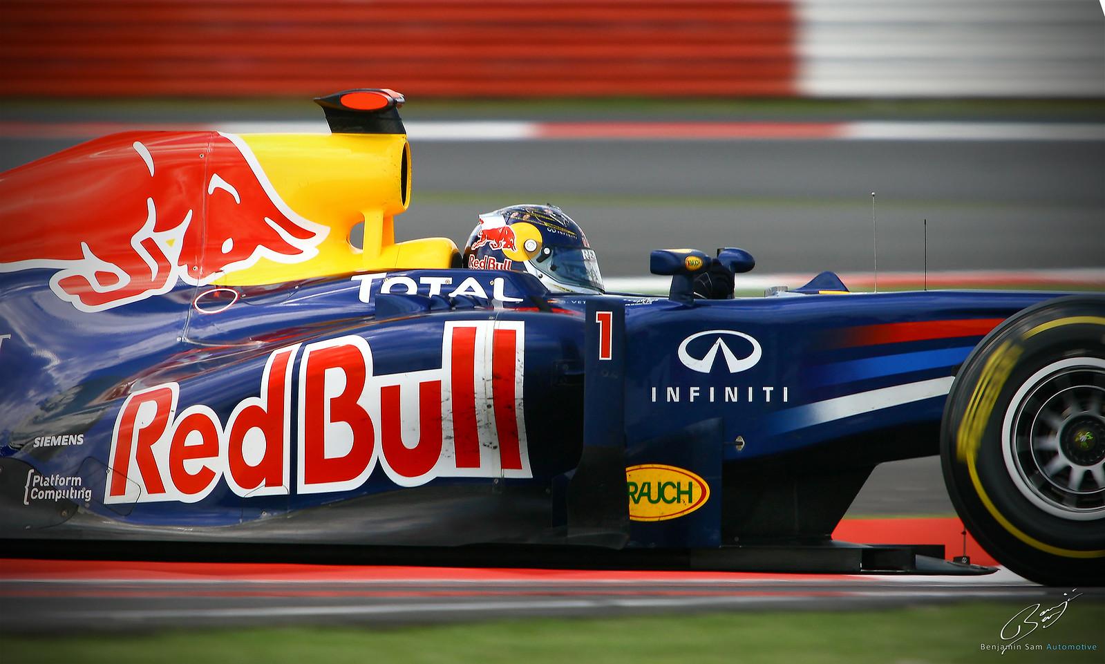 Sebastian Vettel - Redbull - Silverstone 2011