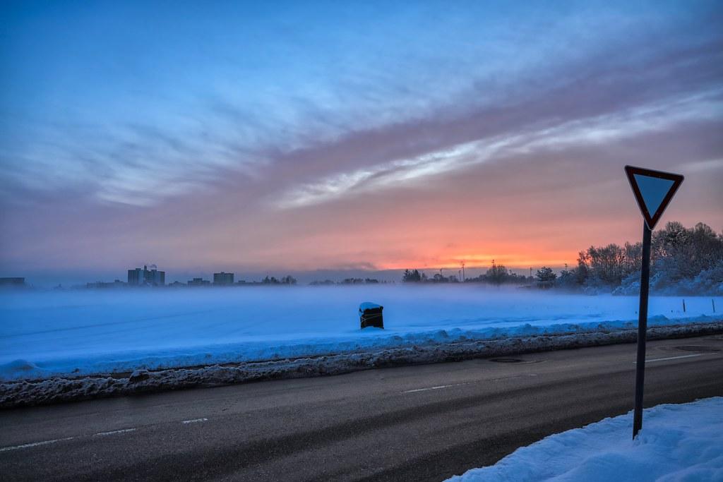 Cold Munich Morning